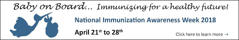 Immunization Awareness Week is in the Spotlight