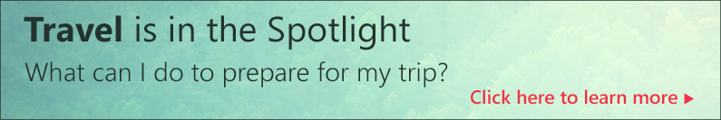 Travel is in the Spotlight