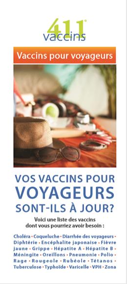 Vos vaccin pour voyageurs sont-ils à jour ?