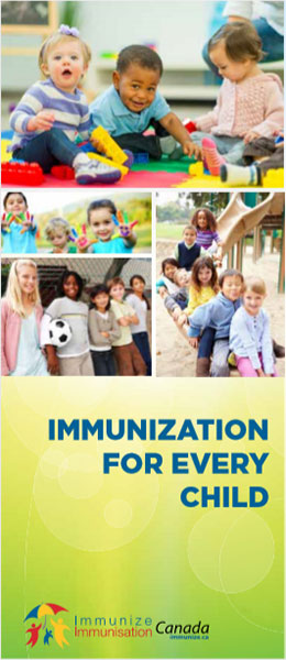 Immunization for Every Child brochure cover