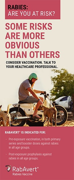 Brochure cover for rabies: are you at risk?